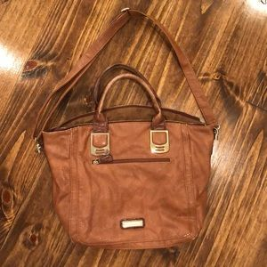 Steve Madden brown leather purse